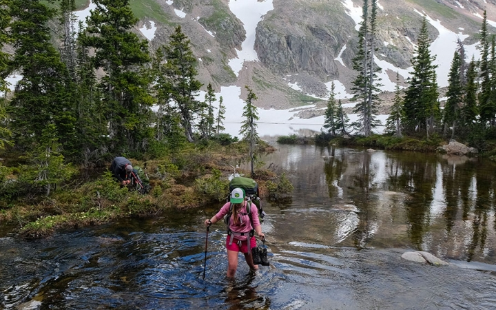 colorado rockies backpacking gap year program