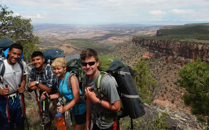 backpacking the Southwest