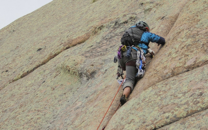 rock climbing program for young adults in the southwest