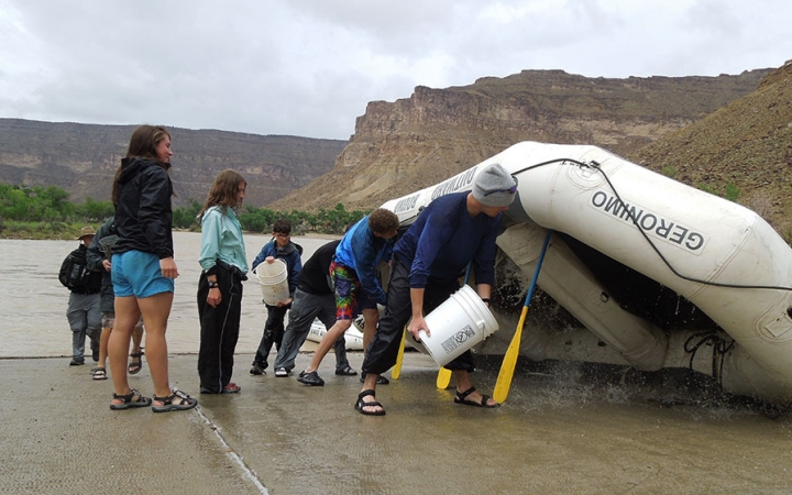 rafting expedition for teens in colorado