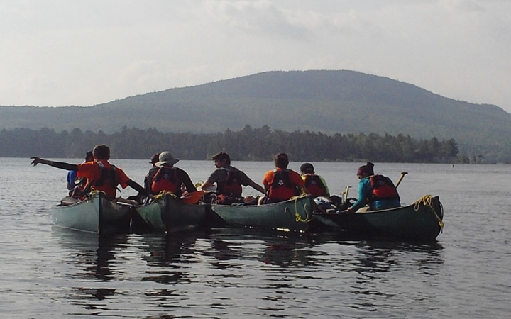 Maine Appalachian canoeing