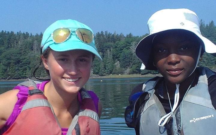 teen sailing courses in Maine