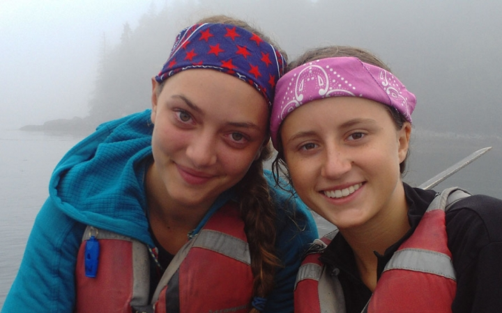 Outward Bound teens