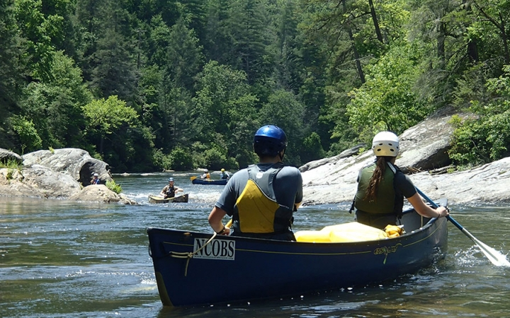 Canoeing and climbing trips