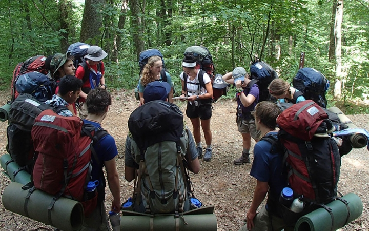 outdoor leadership classes