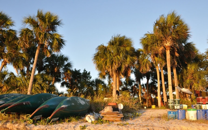 florida camping and canoeing