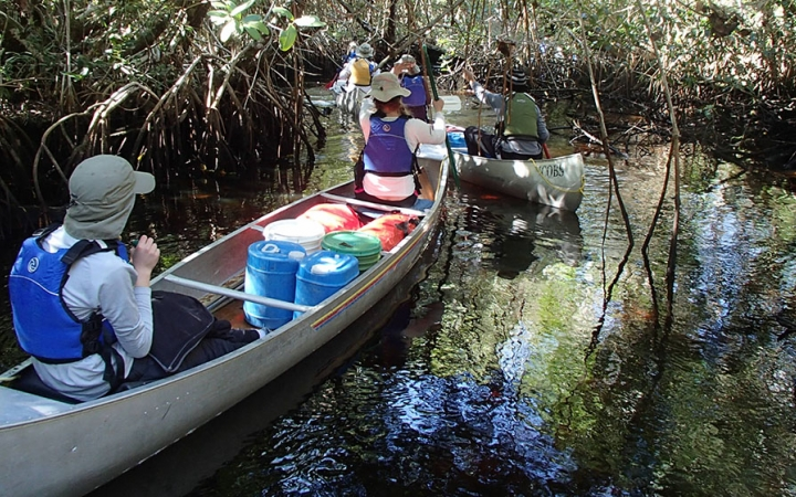 florida canoeing course
