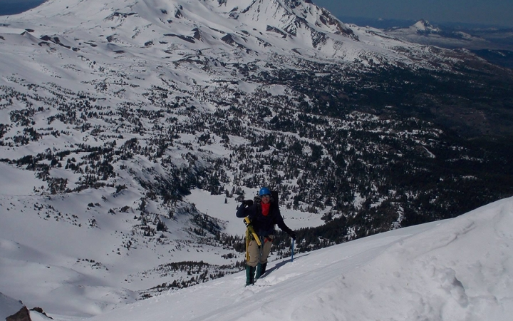 mountaineering instruction in oregon