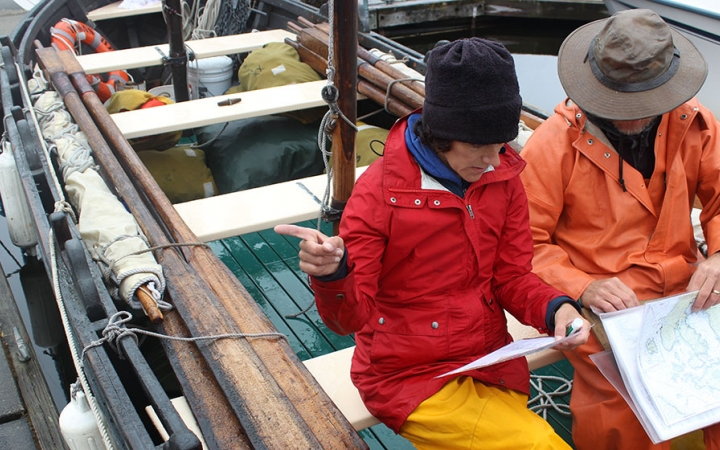 teenager sailing courses