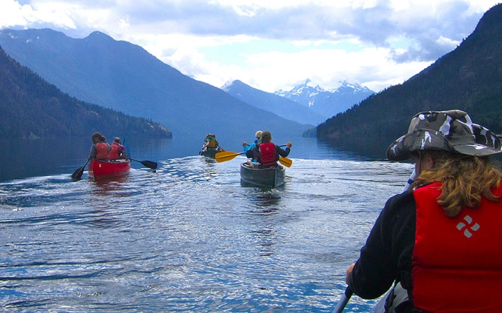 canoe trips in Washington State