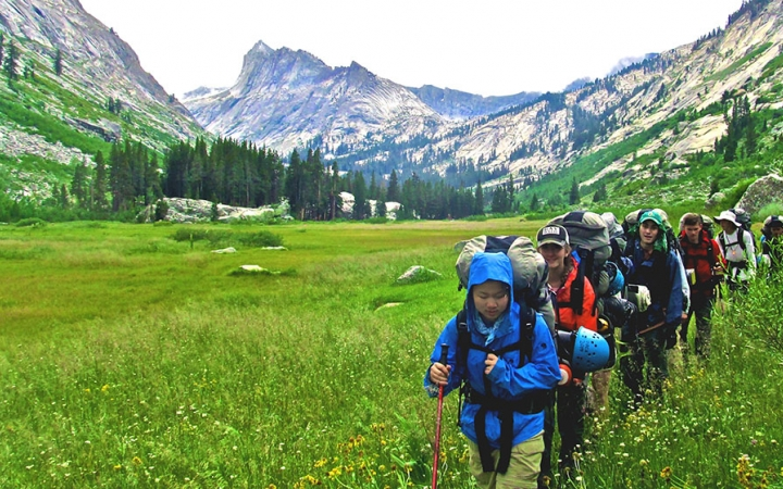 backpacking in california for teens