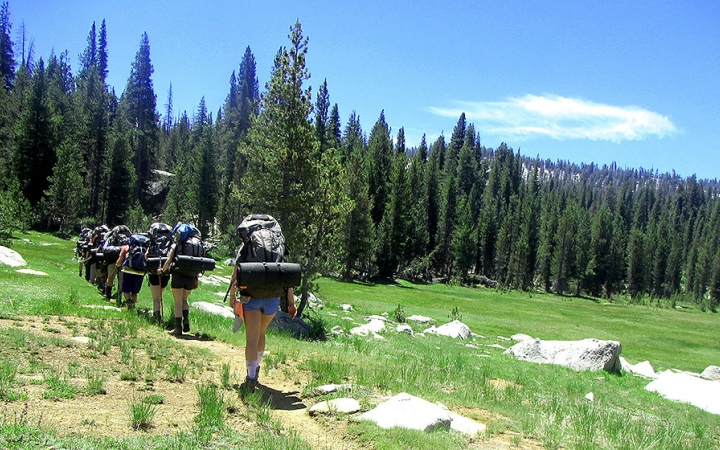 outward bound backpack trips