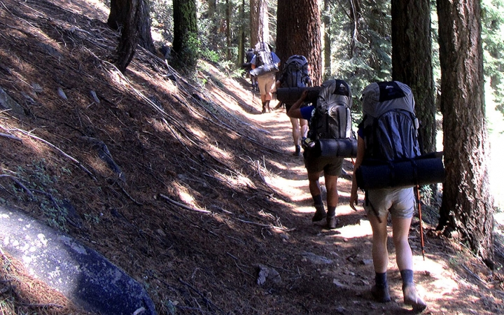 california backpacking