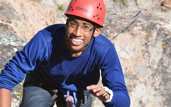 rock climbing courses for teens