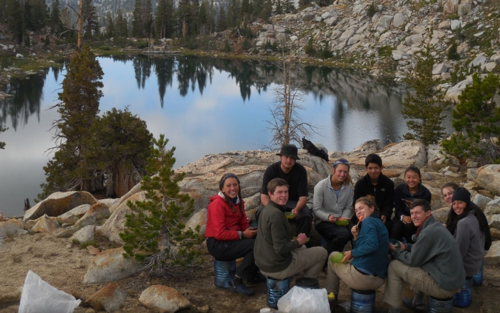 camping trips in California