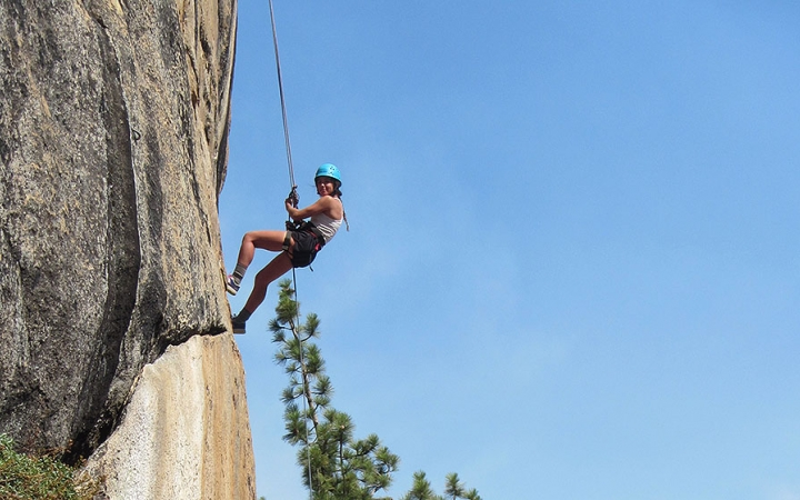 rock climbing trips in California