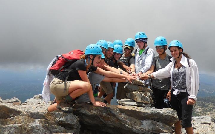 High Sierra Mountaineering Amp Rock Climbing Program