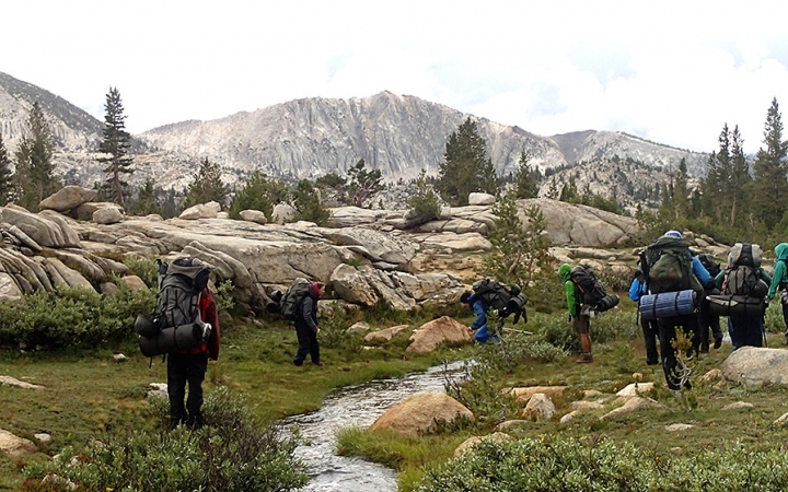 Yosemite backpacking