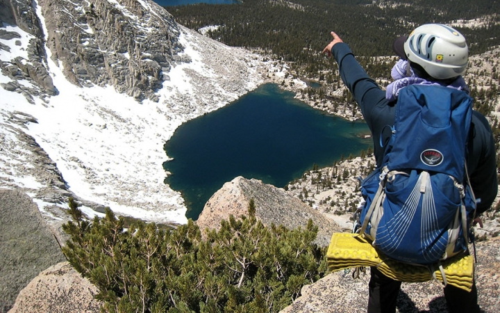 mountaineering in California
