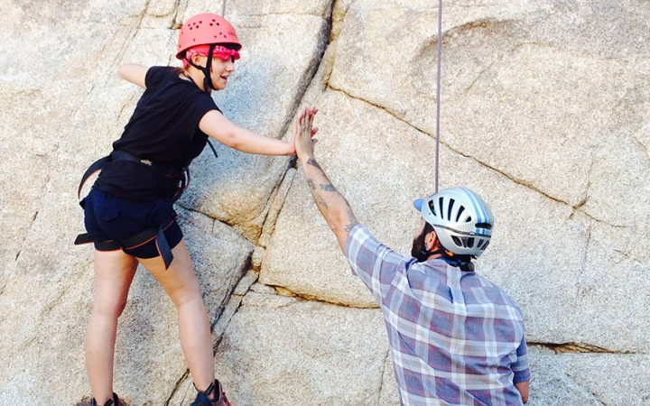 rock climbing in California