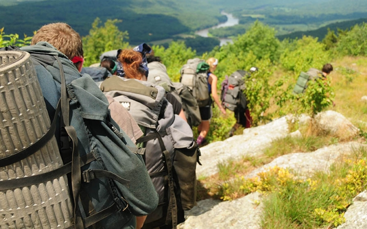 backpacking for grieving teens