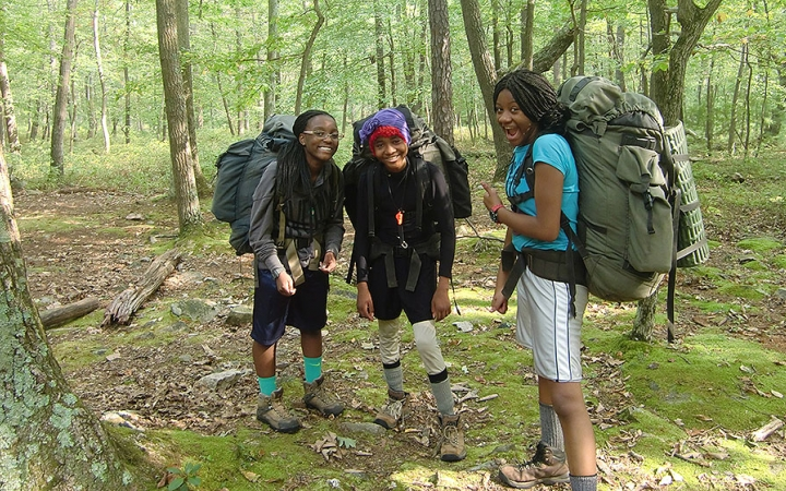backpacking for teens