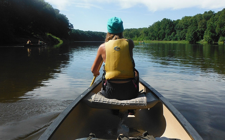 teen canoeing courses