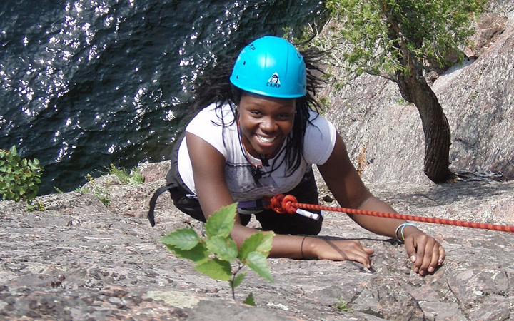 rock climbing and repelling classes