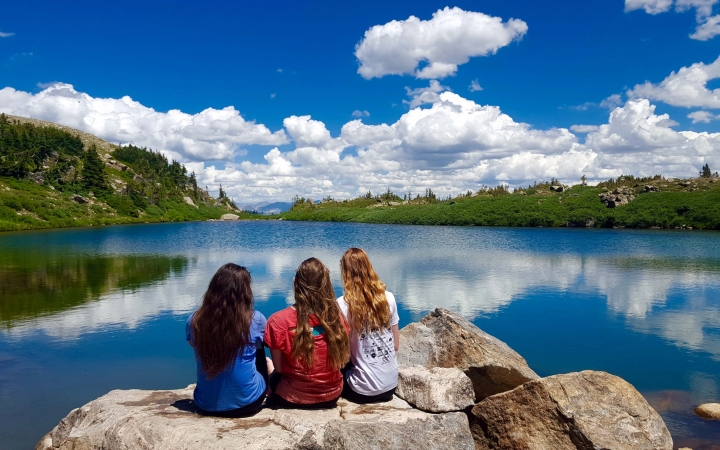 backpacking trip for girls in colorado