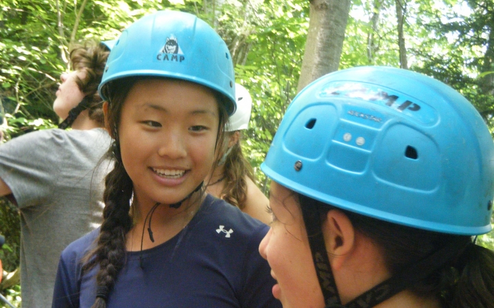 rock climbing class for teens in maine