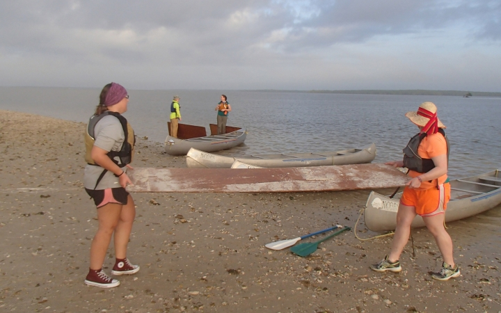 canoeing trip for families in florida