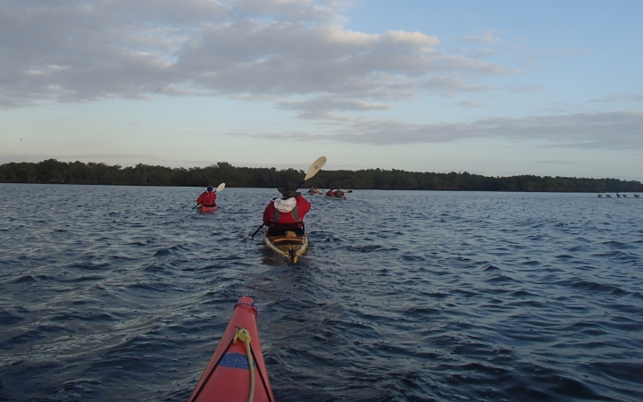 adult kayaking course
