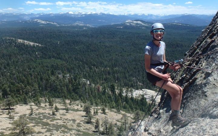 Yosemite Backpacking & Rock Climbing Outdoor Program