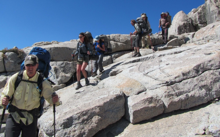 backpacking program for adults in yosemite national park