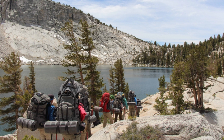 outdoor leadership program for teens in yosemite