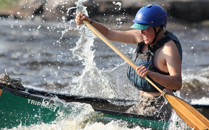 gap year whitewater adventure course