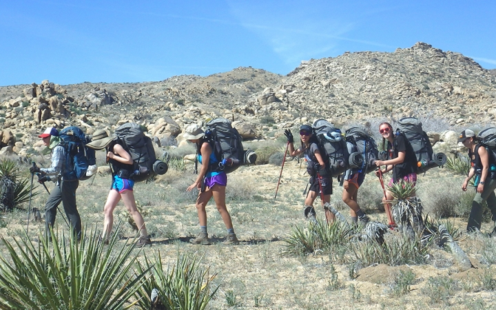 gap year backpacking trip in big bend texas