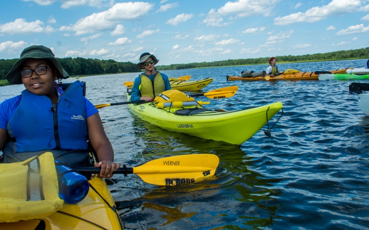 Chesapeake Bay Sea Kayaking trip for teens
