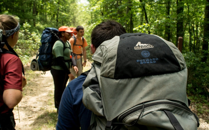 backpacking adventure for teens in baltimore
