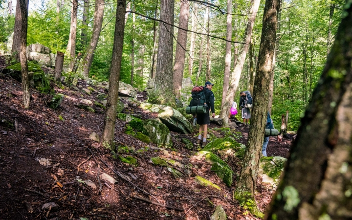 backpacking class for teens near baltimore