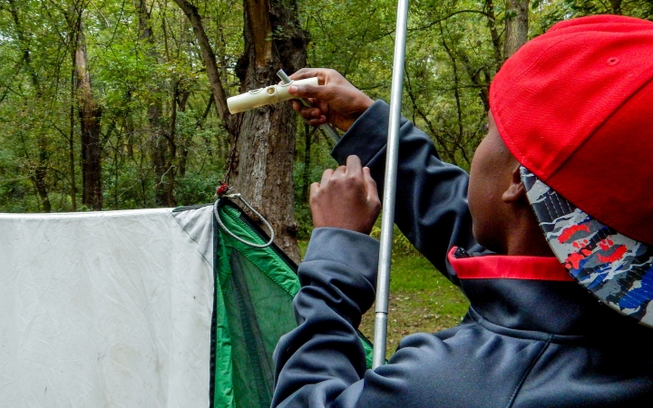 teens learn backpacking skills in west virginia