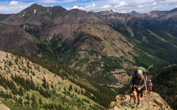 backpacking trip for teens in colorado