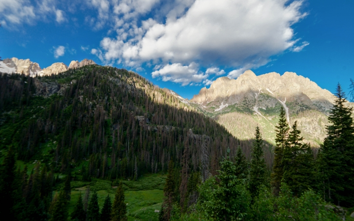 backpacking expedition for teens in colorado rockies