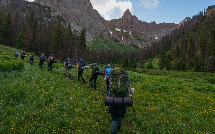 backpacking program for teens in colorado