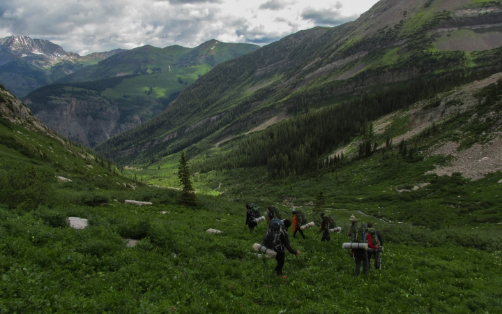 colorado backpacking trip for teens