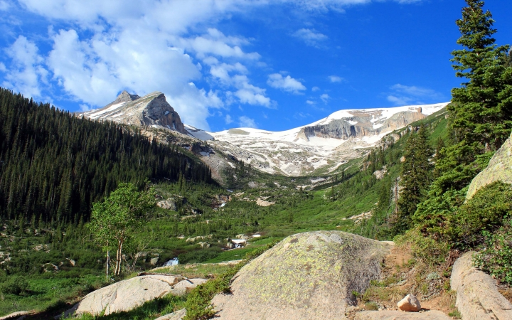 rocky mountain backpacking