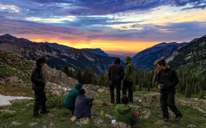 mountaineering expedition for teens
