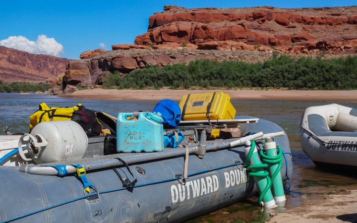 southwest rafting expedition for young adults