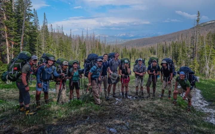 Rocky Mountain backpacking with Outward Bound