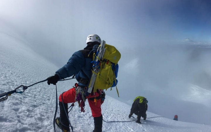 outdoor leadership mountaineering program in ecuador